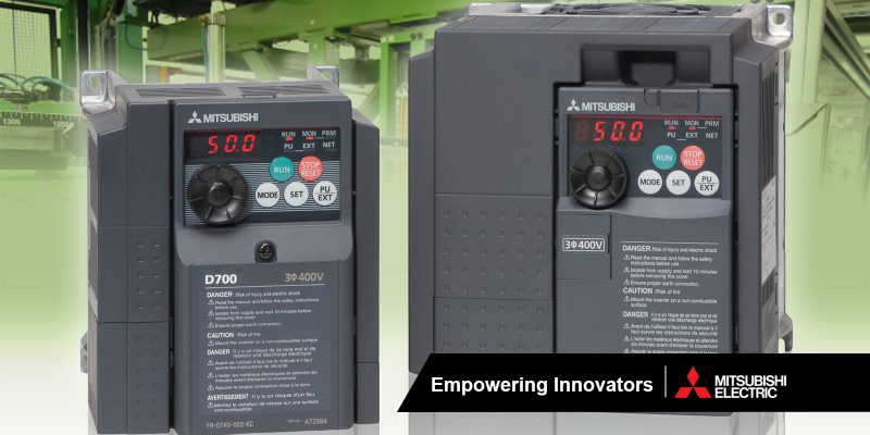 FR-D700 Series | Inverters from Garland Instruments