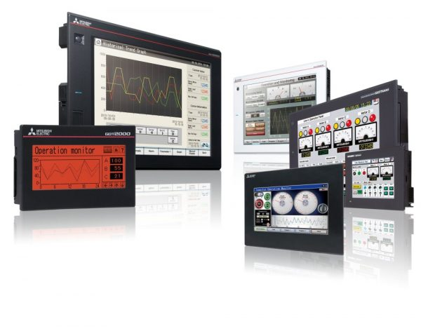 Mitsubishi GOT | Displays & SCADA from Garland Instruments