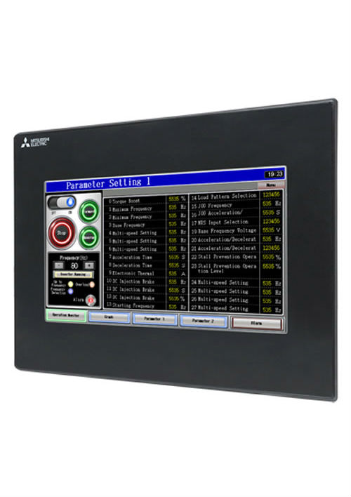 GS2107-WTBD | GS2110-WTBD | Displays & SCADA | Mitsubishi GOT